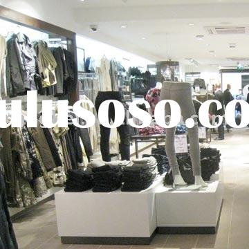 MDF shopfitting clothing stores