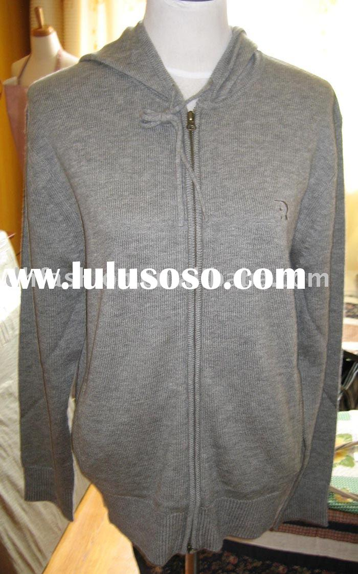 MEN'S HOODED CARDIGAN SWEATER(DH-M-R2-2)