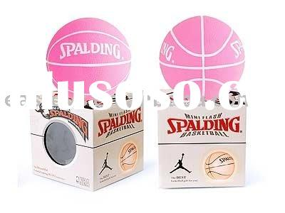 MINI FLASH SPALDING BASKETBALL , toy ball , child toy