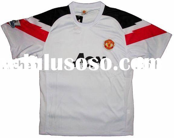 Man United 10/11 Away Soccer Team Uniforms For Wholesale