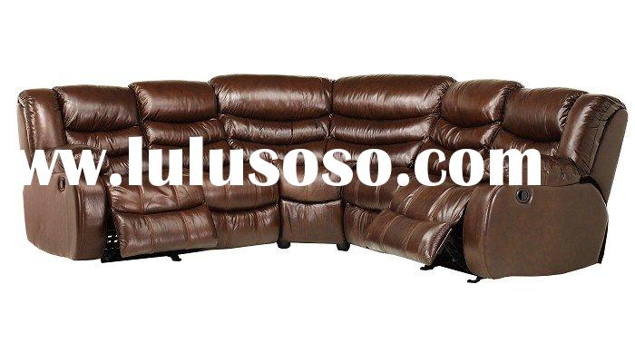 Maxwell Collection - Dark Brown 3 Pc Sectional sofa (xian236)