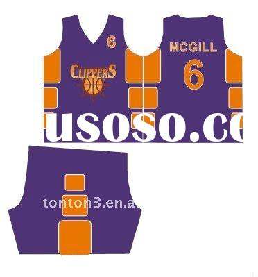 Mens Basketball Uniform Design