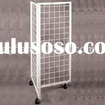 Merchandise Unit Display / Merchandising Display / Metal Grid Display