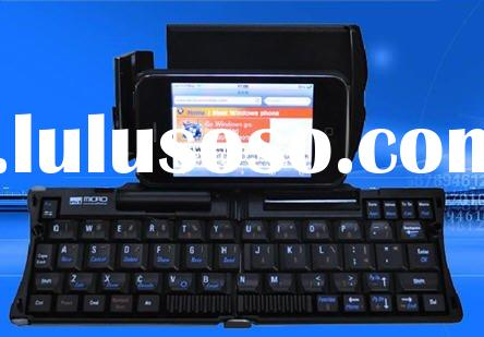 Mini foldable wireless Bluetooth Keyboard for iphone 4G,PC,PDA,windows mobile