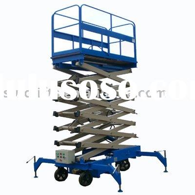 Mobile hydraulic scissor lift, working lift, lift table,Lift, lift table, lift platform, Lift, lift