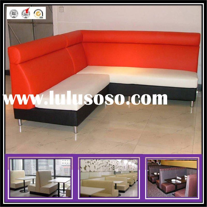 Modern Restaurant Sofa and Table Furniture