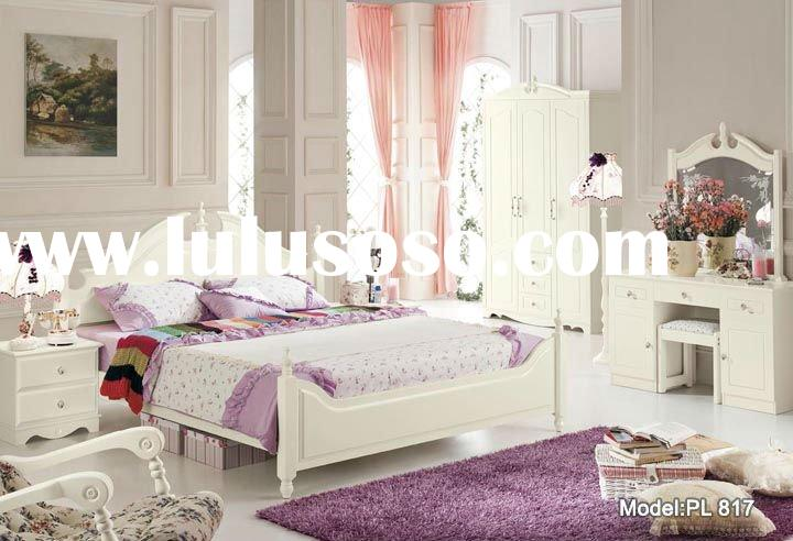 Modern bedroom set furniture, Pure Love,PL817