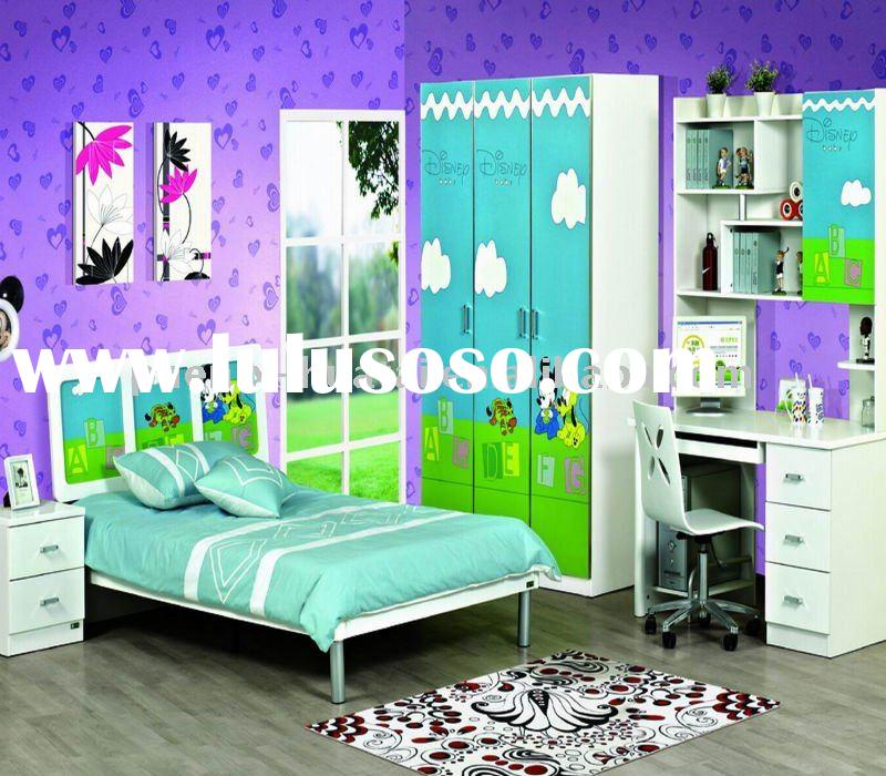 Modern children bedroom furniture set