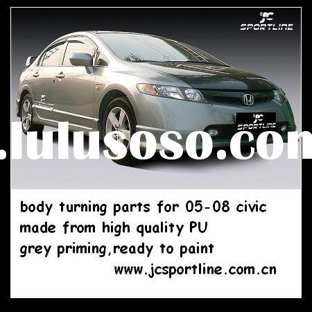 Mugen PU body kits/ car body styling For 05--08 Honda Civic Sedan