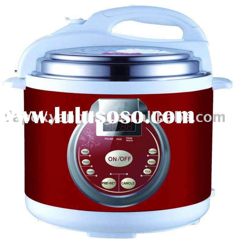 Multifunctional Red Electric Pressure Cooker Electric rice cooker
