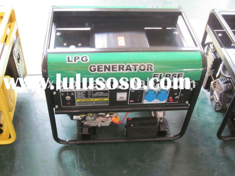 Natural Gas Or LPG Portable Generator Set Prime 1.6kw to 6.5kw