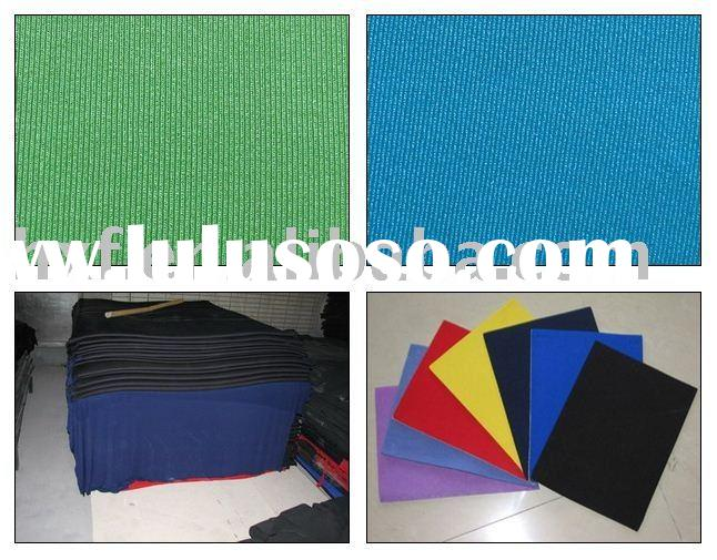 Neoprene Rubber Sheet with Fabric