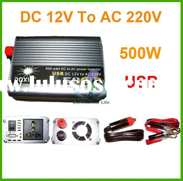 New Car 500W watts 12V DC to 220V USB AC Power Inverter