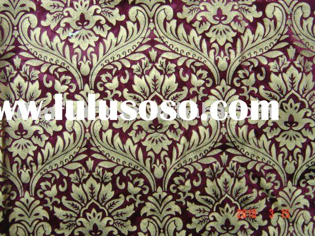 New design of 100%polyester woven velvet fabric for sofa