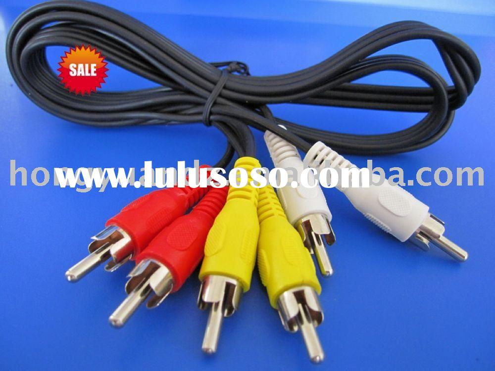 Noiselrss 3R-3R Rca Audio and Video Cables
