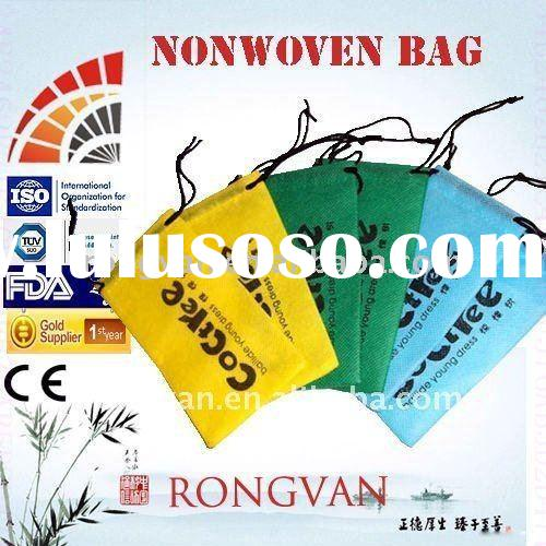 Nonwoven canvas shopping bags with wheels