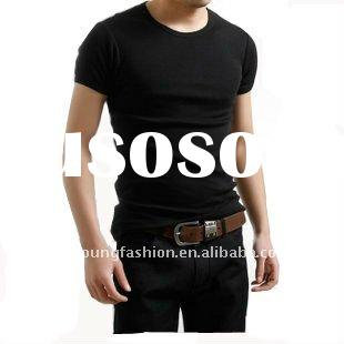 OEM service short sleeve blank cheap plain dyed 100 cotton t-shirts