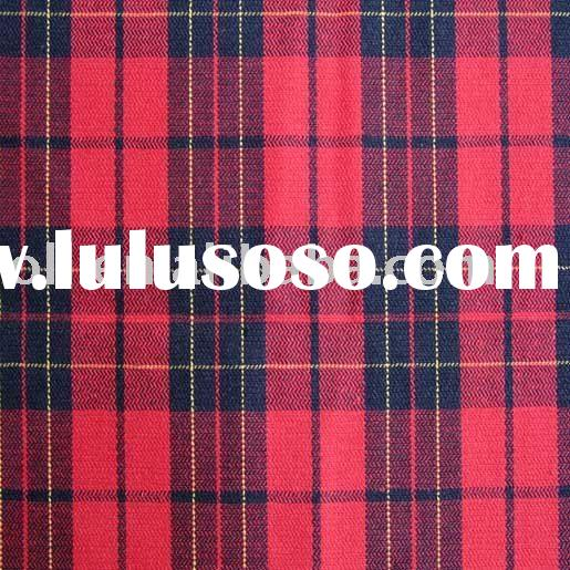 OLL09-C0251 100%cotton yarn dyed fabric