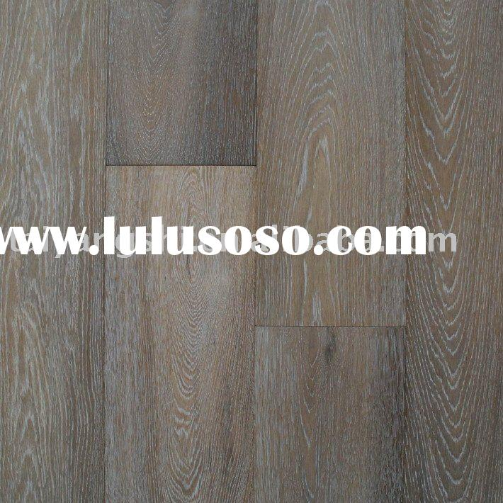 Oak Engineered Wood Flooring with Smoked White Washed Natural Oiled