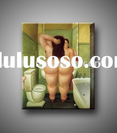 Oil Painting Reproductions, Botero paintings, rude oil painting