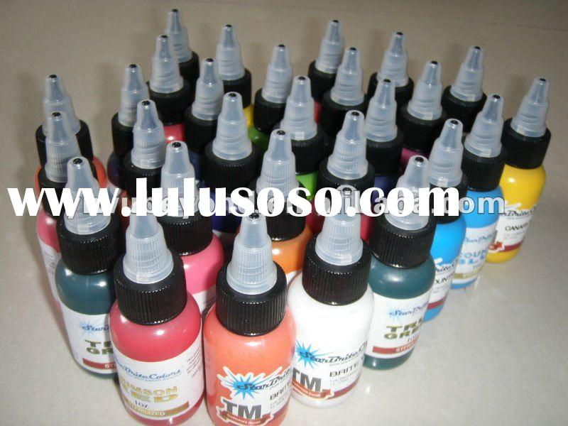 Original Starbrite Tattoo Inks (MADE IN USA/14Colors Set)