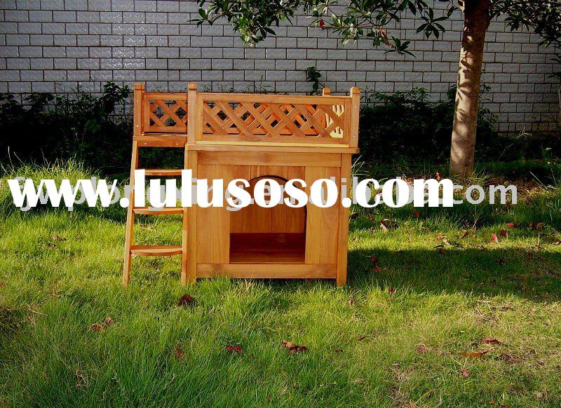 outdoor cat house plans free