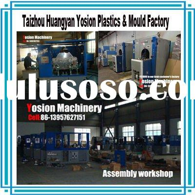 PET semi-automatic Bottle stretch blowing molding machinery