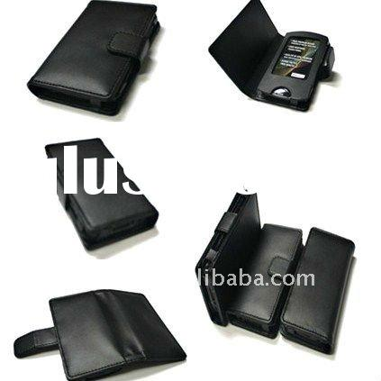 PU Leather case for sony MP3/MP4 player NEW desigh
