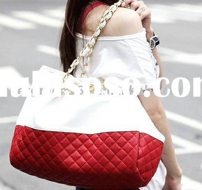PU handbag ,brand fashion handbag 2009 Newest style ladies handbag ,purse