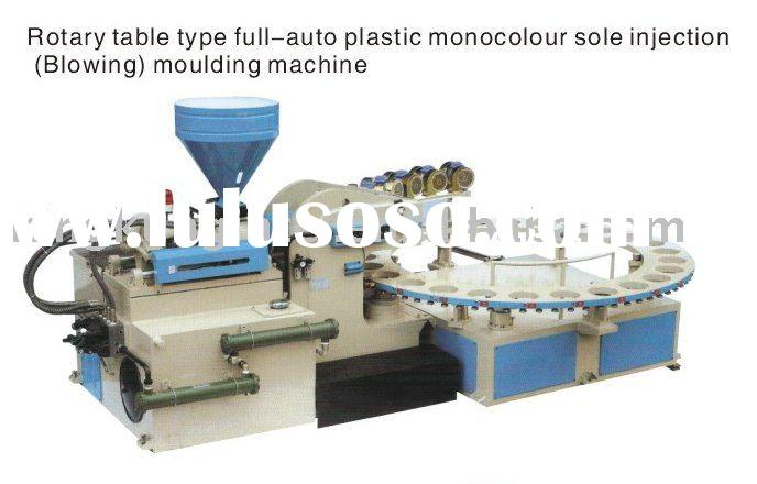 PVC air-blowing shoe making machine