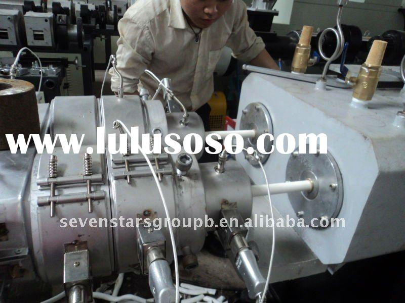 PVC electric pipe making machine