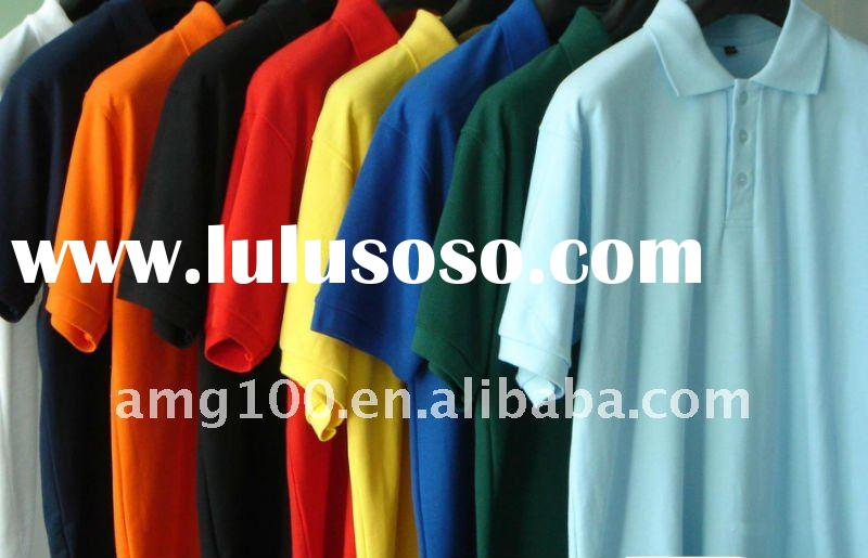 Pique Short Sleeve Polo Shirts (OEM Service)