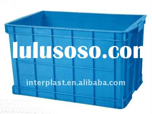 Plastic Crate, Plastic Box, Water Box, Plastic Container, Storage Box