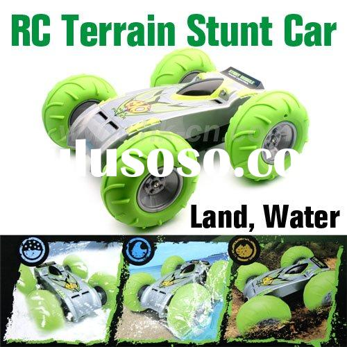 Plastic Toy Car,Radio Control All Terrain Stunt Car,RC toy car