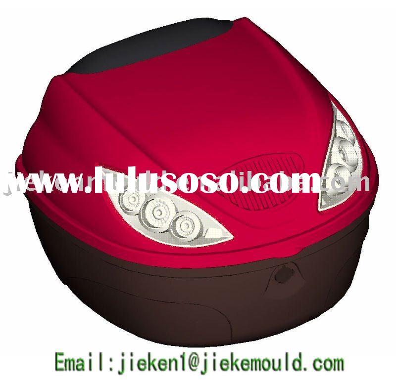 Plastic injection motorcycle tail boxes mould