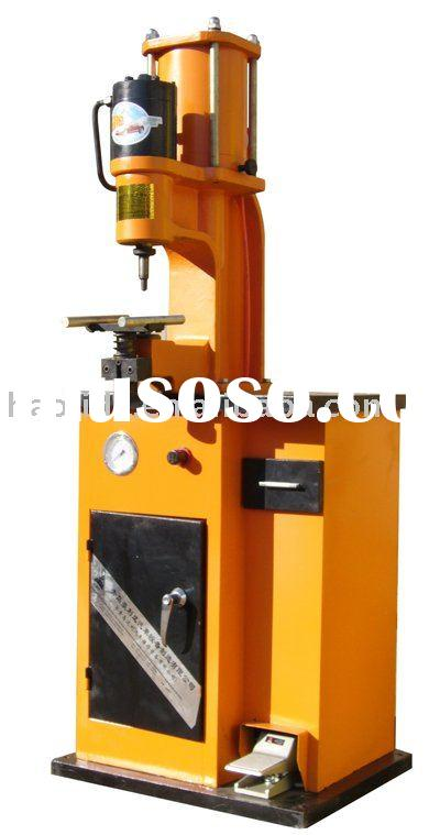 Pneumatic - Hydraulic Brake riveting machine for brake shoe /brake pad /brake disc/ brake lining/ br
