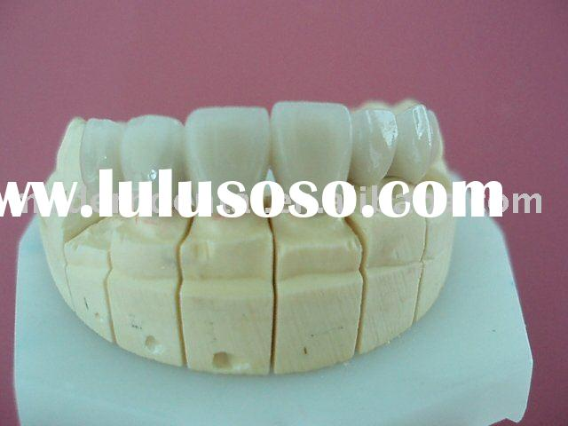 Porcelain-fused-to metal crown (PFM) Co-Cr Dental supply