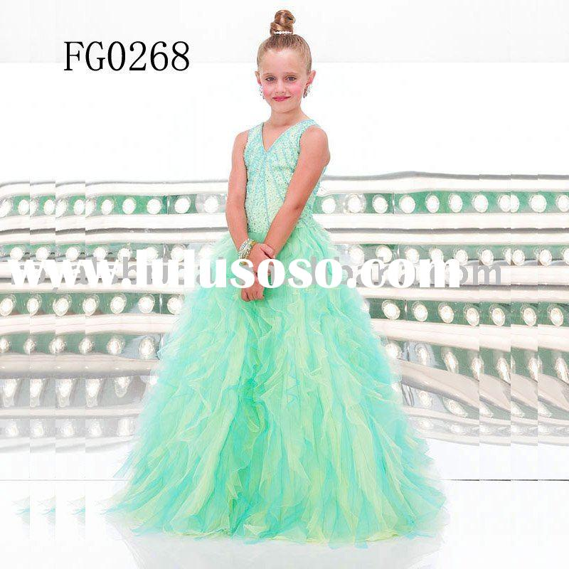 Pretty Kids Party Dress Wedding Wear