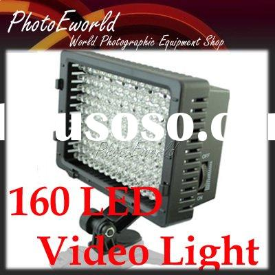 Pro 160 LED Video Light for DV Camcorde/DSLR Lighting
