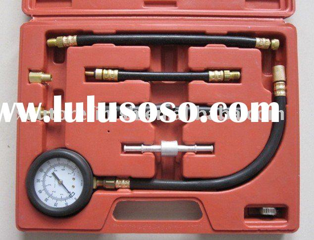 Profeesional Auto Car Tool Kit Crash pump Tool Repair Sets Oil Fuel injection pressure gauge