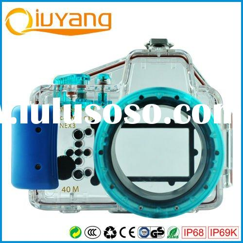 Professional digital waterproof case for Sony NEX3,Underwater case