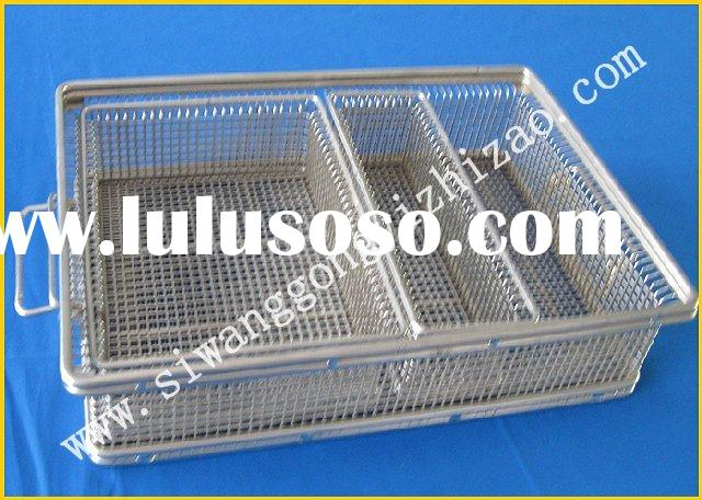 Professional produce JHT stainless steel wire mesh basket