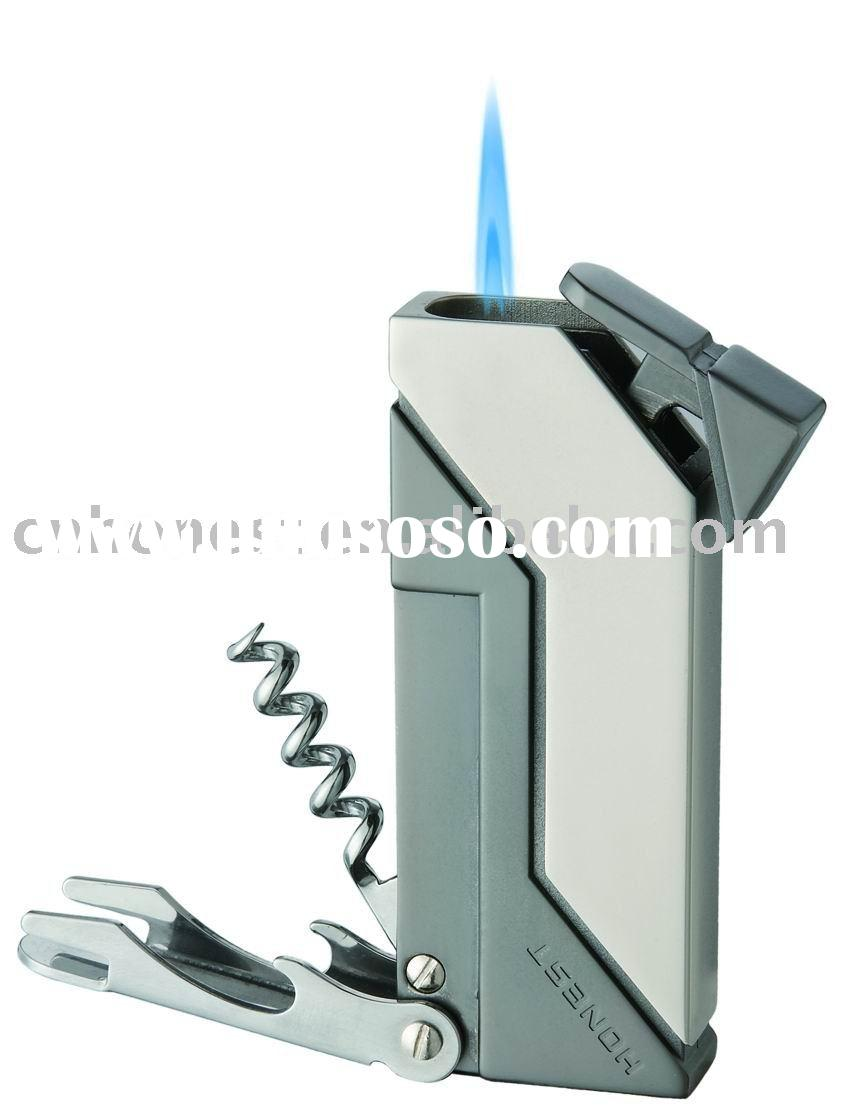 Promotional multfunctional Lighter with wine opener and bottle opener