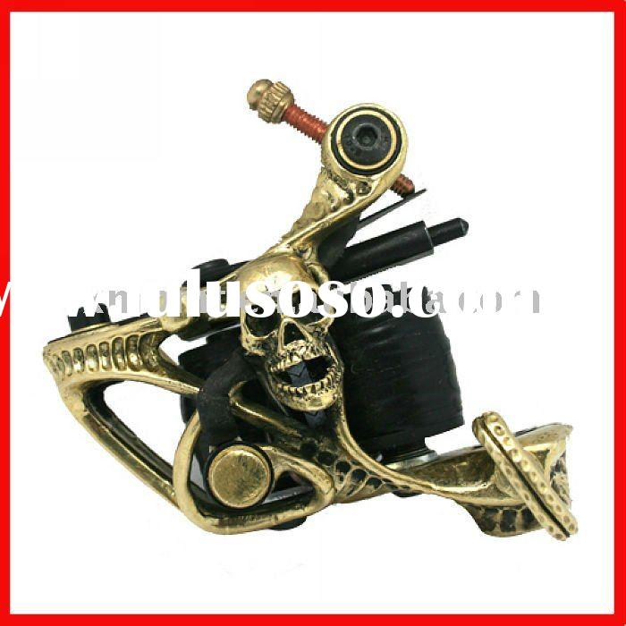 Pure copper handmade tattoo Machine tattoo Gun