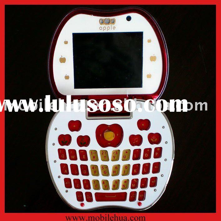 Qwerty Keyboard Apple Shape Cell Phone HL-11