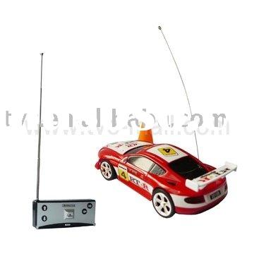 Radio Controlled Cars,Super Mini Remote Control Palm-Top R/C Racing Car(27MHz)