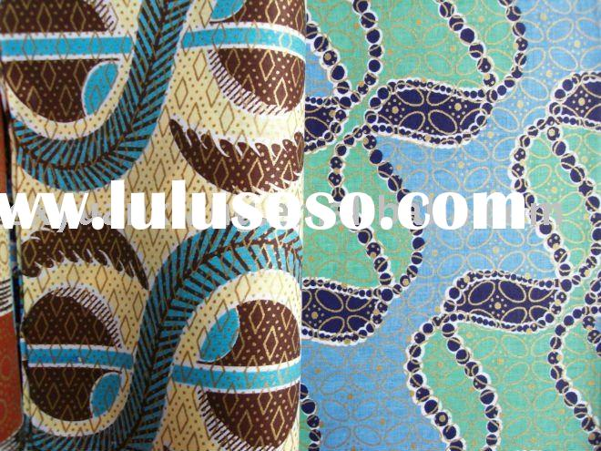 "Real Wax 24s,72*60,54"" Printed African Fabric"