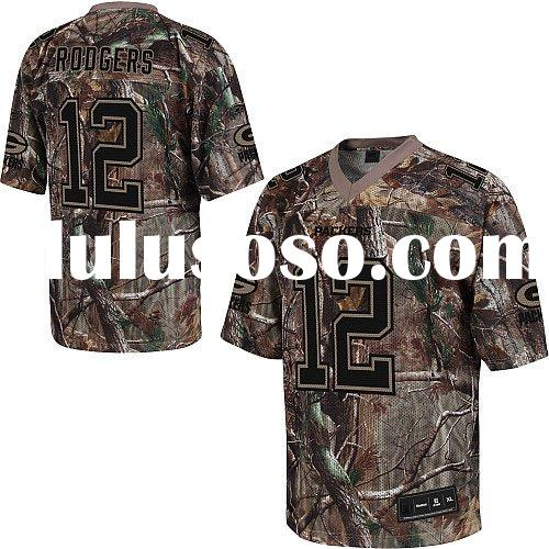 Realtree Jerseys Green Bay Packers #12 Aaron Rodgers FOOTBALL Camo Authentic Jersey 48-60 Drop Shipp