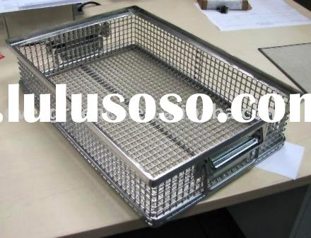 Rectangle Stainless Steel Wire Mesh Basket