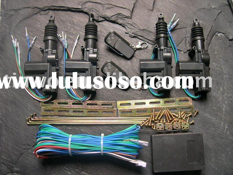 Remote Car Central Door Locking System with Rotational Gun Type Actuator
